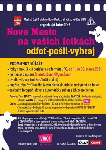 PEKNÝ VÍKEND 🌞 = PEKNÉ FOTKY 📸😉 Využite najbližší víkend, počas ktorého sa črtá pekné počasie 🌞, a…Bratislava – Nové Mestobanovemesto FB Posts