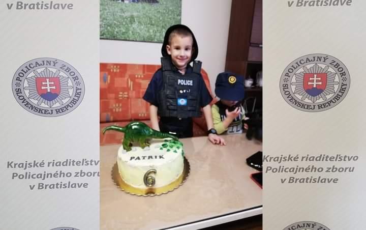 POLICAJNÁ PÁRTY U OSLÁVENCA PAŤKA To bol ale darček…🎁 👦Medzi narodeninové želania oslávenca…