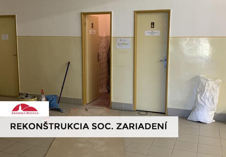 Dnes sa začala v budove zdravotného strediska 🛠 rekonštrukcia sociálnych zariadení, ktorá bude trvať najbližšie tri týždne. Pros…