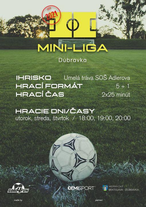KOMUNITNÁ MINI-LIGA V MALOM FUTBALE JE TU!⚽️ Podujatie pre nadšencov futbalu, ktorí si chcú spríjemniť voľný čas organizovanou š…