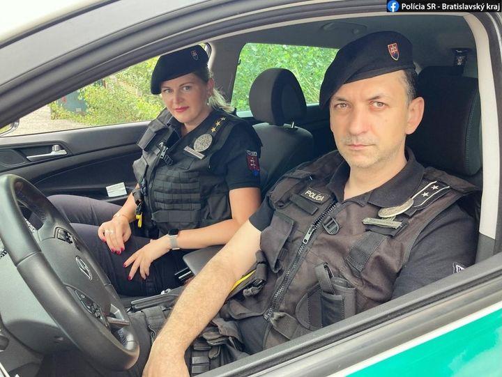Pozdrav pre policajtov…