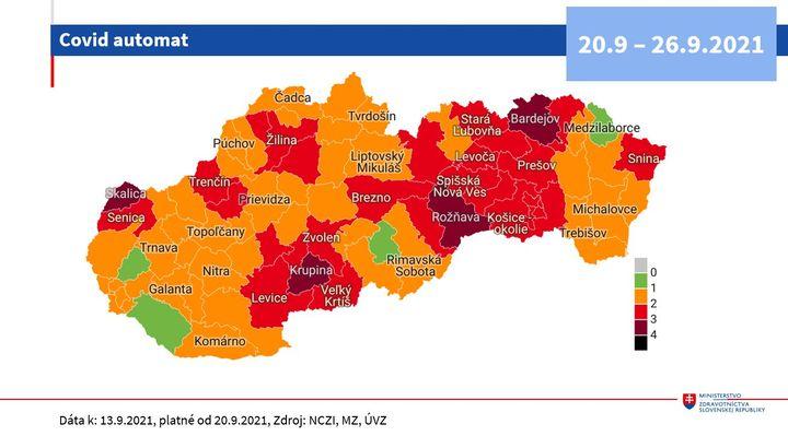 🚦COVID AUTOMAT Od 20. septembra je Bratislava v oranžovej v stave ostražitosti. Čo sa mení sa dozviete TU 👉 https://automat.gov….