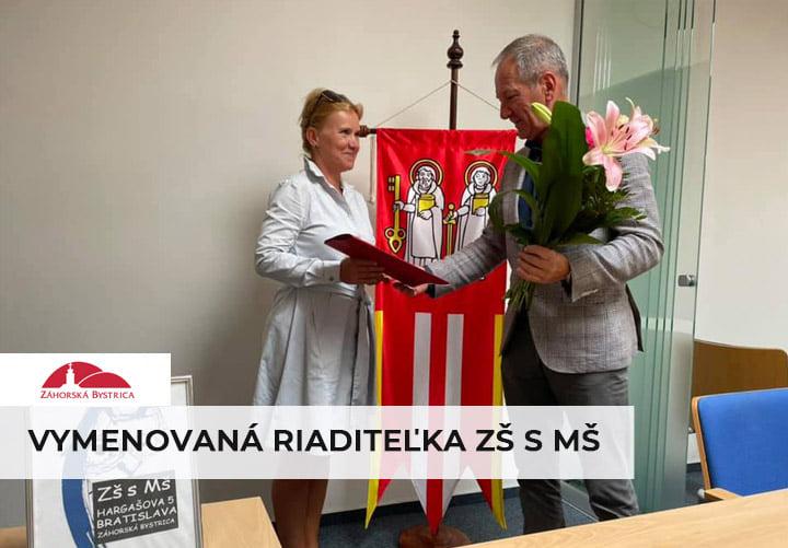 Pani PaedDr. Zuzana Kaliariková po 3-krát zvíťazila vo výberovom konaní na riaditeľku našej základnej a materskej školy 📚 na Har…