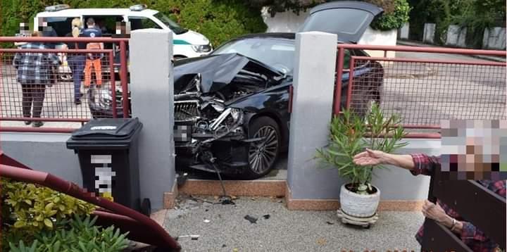NEHODA VOZIDIEL LUXUSNÝCH ZNAČIEK VYJDE PORIADNE DRAHO 🚨Kuriózny incident riešia dopravní…