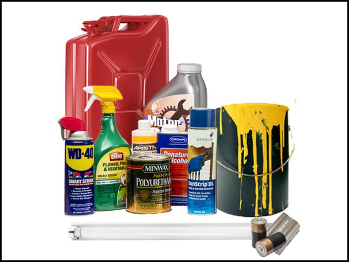 ZBER NEBEZPEČNÉHO ODPADU  ☣️🛢📺💡❎ Pokiaľ máte doma staré náterové hmoty, odpadové rozpúšťadlá, pesticídy, oleje či tuky a potrebu…