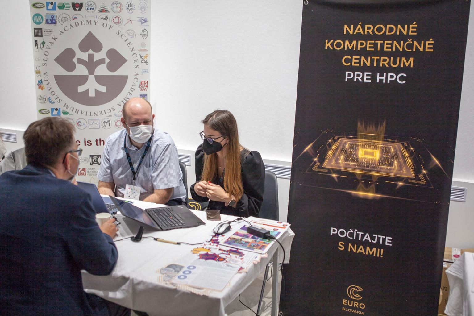 Národné kompetenčné centrum pre HPC na SlovakiaTech Forum Expo