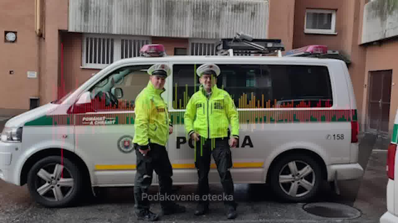 👮♂️ ÚŽASNÁ POMOC DOPRAVNÝCH POLICAJTOV 👶🏻